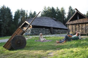 The Longhouse at the Viking Farm Avaldsnes. (Photo Kåre Tangen)