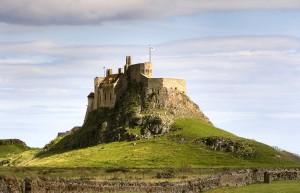 Lindisfarne Castle on Holy Island. (Foto Wikimedia Commons).