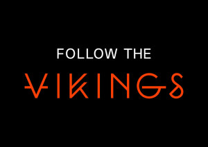 Se nettsiden til FOLLOW THE VIKINGS