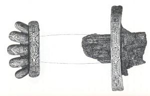 Sverd fra Rossabø i Haugesund vitner om kontakt med England på 900-tallet.