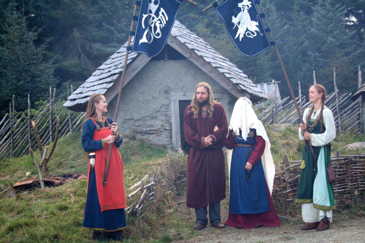 Kjærlighet og ekteskap i vikingtid.