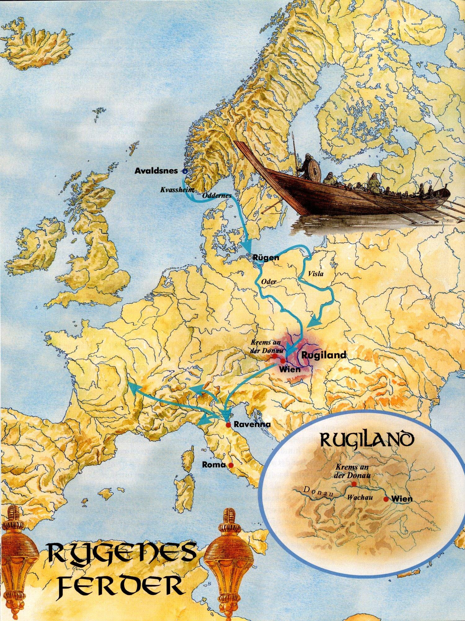 gamle navn fra vikingtiden