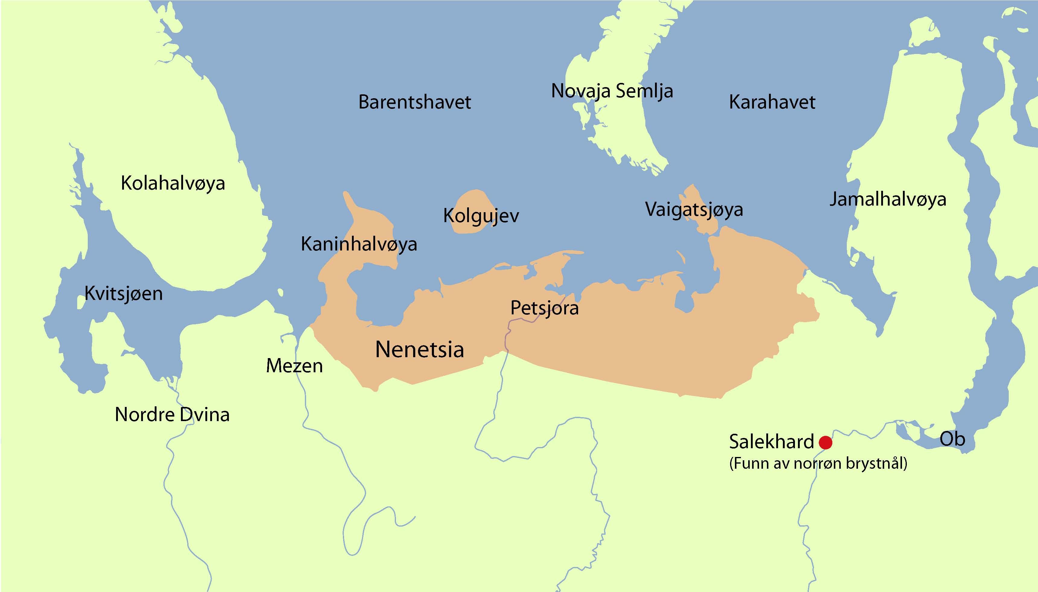 karahavet kart Hjør og Ljufvina karahavet kart