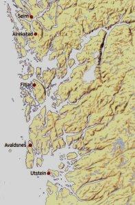 HARALD HÅRFAGRE SINE KONGSGARDAR. Alle Harald Hårfagre sine kongsgardar låg i Rogaland og Hordaland
