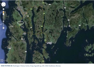 AVALDSNES AREA, GOOGLE MAP