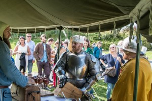 How about meeting a medieval knight?