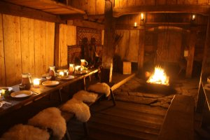 The longhouse at Avaldsnes Viking Farm (Photo Karmøy Kulturopplevelser)