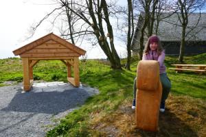 Ridetur på Odins hest Sleipner. Foto Marit S. Vea